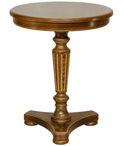 Стол Верди деревянный круглый