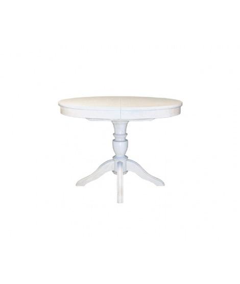 Обеденный раздвижной стол Рондо ОВ с овальной столешницей