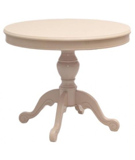 Деревянный стол Фа с круглой столешницей
