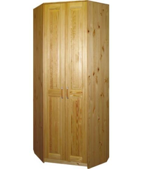 Двухдверный угловой шкаф Шк-Ку825 для дома и дачи