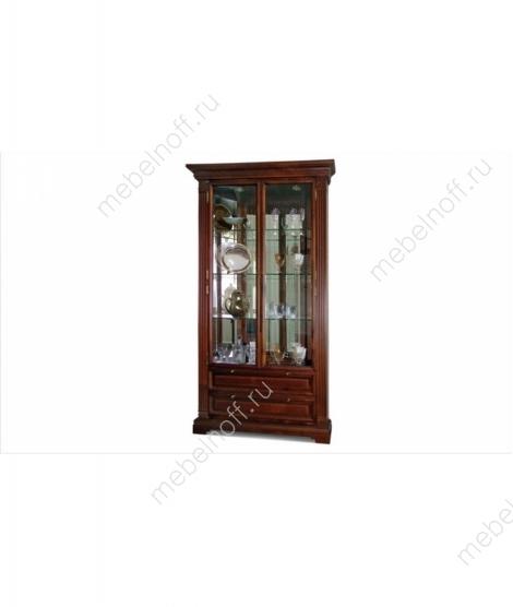 Шкаф с витриной  Престиж ГМ 5918 (угловой)