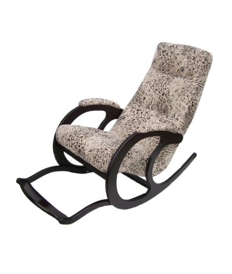 Кресло Качалка  (с регулируемой подножкой) КР-12-1