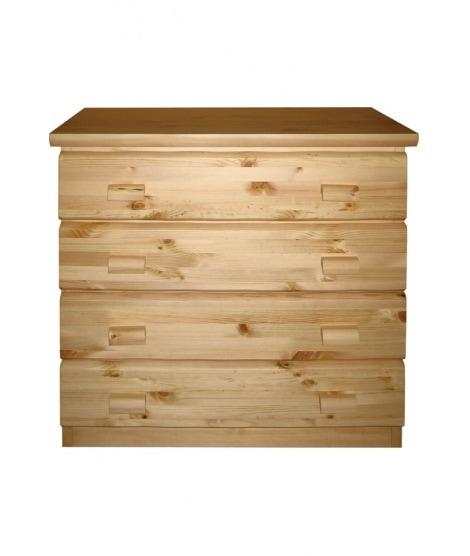 Деревянный комод Км-s.3 c 3 ящиками