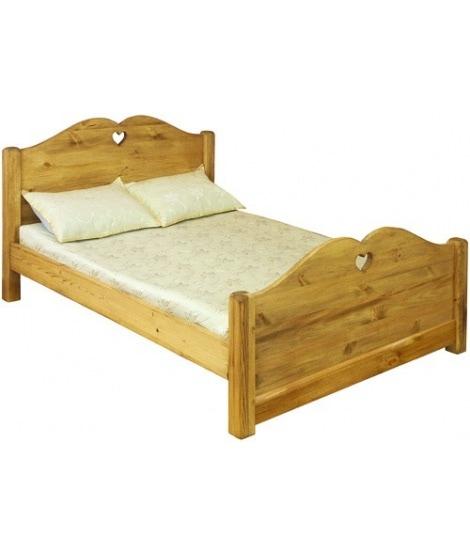 Кровать LCOEUR 140 и 160 из сосны