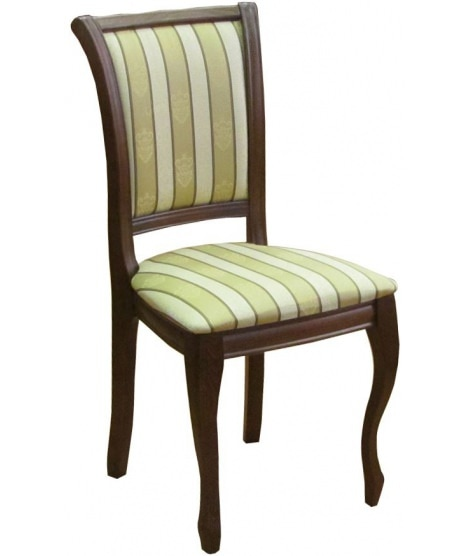 Мягкий стул Мираж на изогнутых ножках