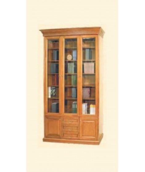 Шкаф книжный Государь трехдверный