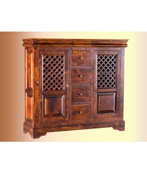 Шкаф комбинированный ОВ 25.04 для мансарды