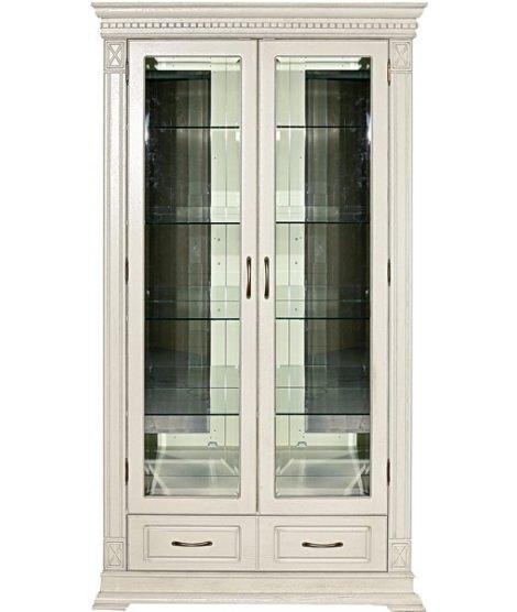 Двухдверная витрина с 2 ящиками Верди А 2з