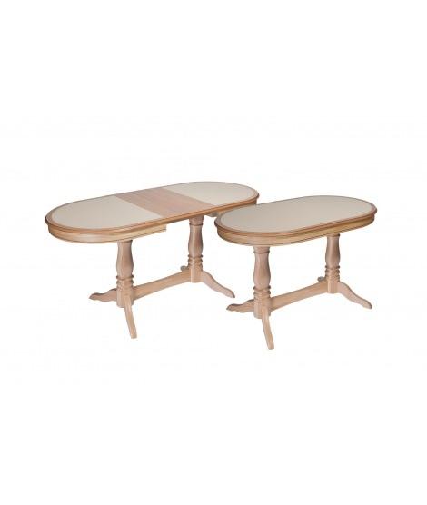 Стол раздвижной Комфорт МО с камнем