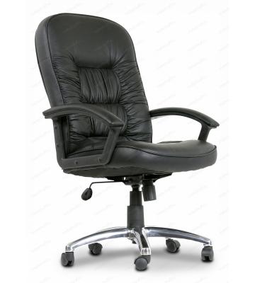 Кресло компьютерное Chairman 418 черный/хром, черный