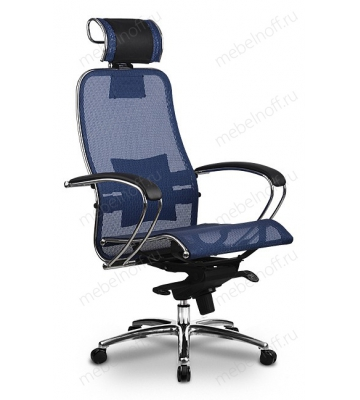 Кресло компьютерное Samurai S-2 Bl