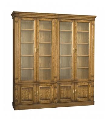 Четырехдверный книжный шкаф Верди 4