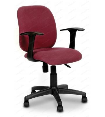 Кресло компьютерное Chairman 670 бордовый/черный