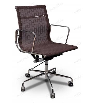 Кресло компьютерное Бюрократ CH-996-low темно-коричневое