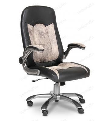 Кресло для руководителя Chairman 439 бежевый, черный/серый, черный