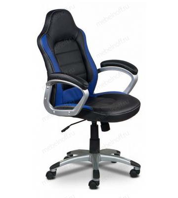 Кресло компьютерное Бюрократ CH-825S/Black+Bl черный/синий