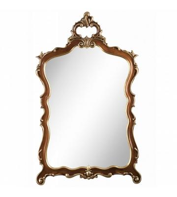 Зеркало из дерева Орех с золотом арт. 56/1