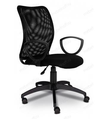 Кресло компьютерное Бюрократ CH-599AXSN черное