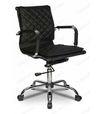 Кресло компьютерное Бюрократ CH-991-LOW/BLACK