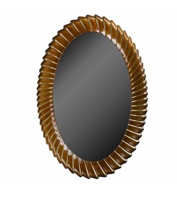 Зеркало из дерева Орех арт. 63