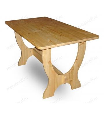 Стол обеденный Омега сосна