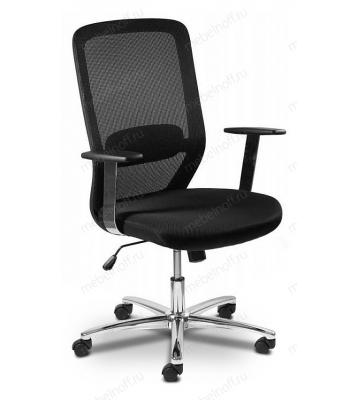 Кресло компьютерное Бюрократ CH-899SL/TW-11 черный/хром