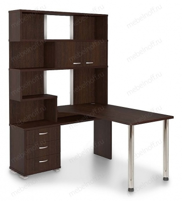 Стол компьютерный Домино СР-420150 венге/хром