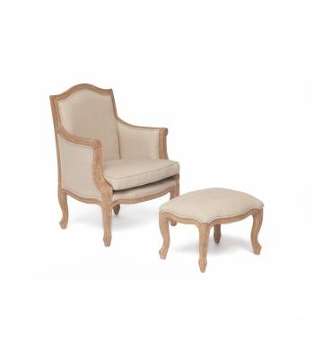 Кресло Secret De Maison Marie с банкеткой