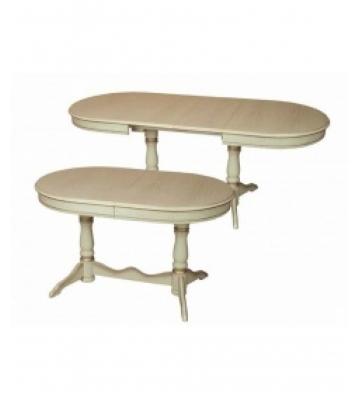 Овальный раздвижной стол Алмаз