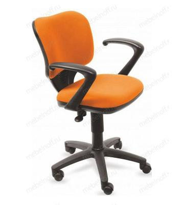 Кресло компьютерное Бюрократ CH-540AXSN-Low оранжевое