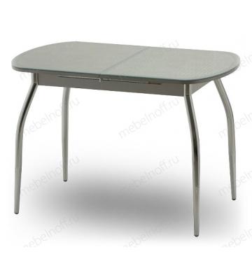 Стол обеденный Касабланка-мини серебро