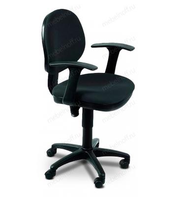 Кресло компьютерное Бюрократ CH-356AXSN черное