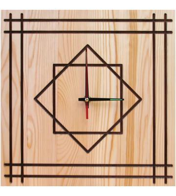 Часы квадратные Геометрия