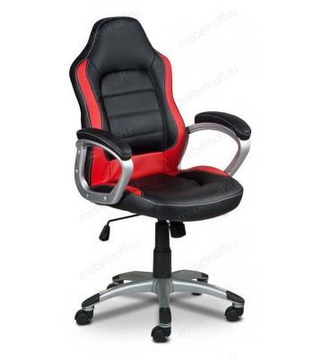 Кресло компьютерное Бюрократ CH-825S/Black+Rd черный/красный