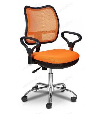 Кресло компьютерное Бюрократ CH-799SL оранжевое