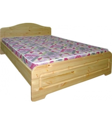 Деревянная кровать Услада с ортопедическая