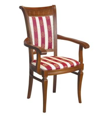 Деревянное кресло Сенатор с подлокотниками