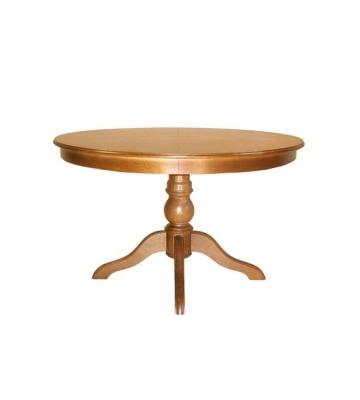 Раздвижной стол Лотос-ОВ из дерева