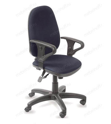 Кресло компьютерное Бюрократ T-612AXSN синее