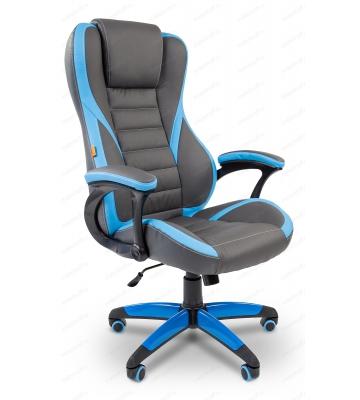 Кресло игровое Chairman Game 22 Grey