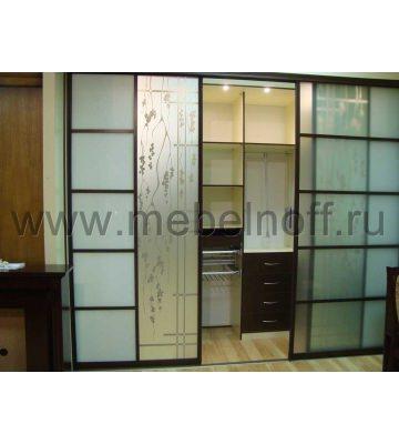 Гардеробная комната в японском стиле (модель 8)