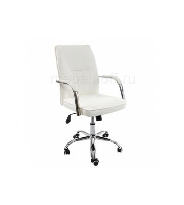 Стул Компьютерное кресло Nadir белое