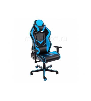 Стул Racer черное / голубое