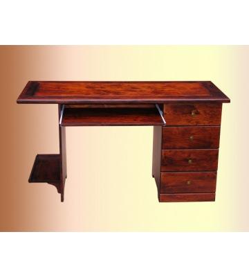 Однотумбовый письменный стол ОВ 14 01 из массива
