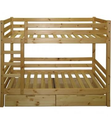 Кровать двухъярусная К-2м в детскую комнату