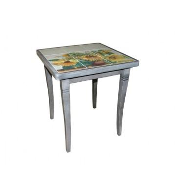 Небольшой стол Подсолнухи  с красивой столешницей