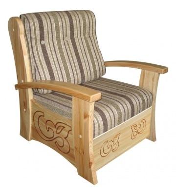 Нерасклодное кресло Баю-бай с ящиком