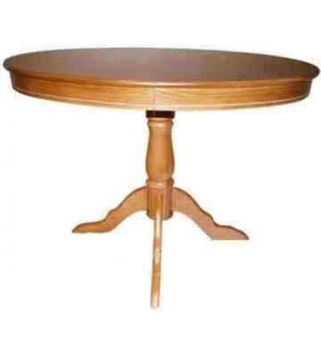 Овальный раздвижной стол из дерева Янтарь Б