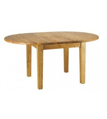 Круглый раздвижной стол 1200 (1600) на четырех ножках