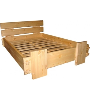 Шикарная кровать Скандинавия для дома и дачи